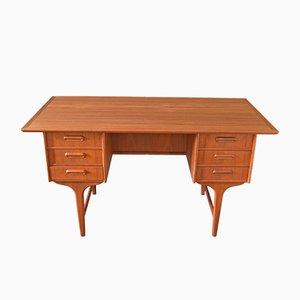 Dänischer Schreibtisch aus Teak von Gunnar Nielsen Tiebergaard, 1960er