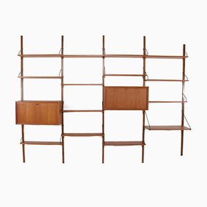 Royal System Modular Wall Unit by Poul Cadovius for Cado, 1960s