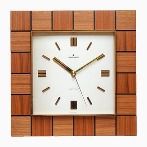 Mid-Century Wall Clock from Junghans, 1970s