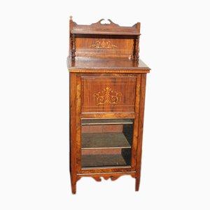 Mahogany Inlay Cabinet, 1920s