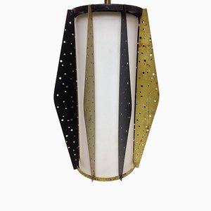 French Pendant Lamp, 1950s