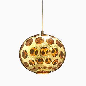 Model Lune Murano Glass Pendant by Piel Putzer, 1960s