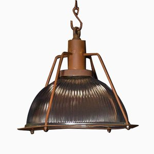 Lámpara de acero de Hoxton, años 60