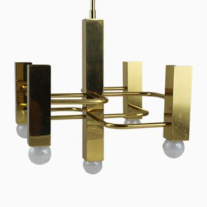 Small Chandelier by Gaetano Sciolari for Sciolari, 1970s