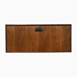 Mid-Century Rosewood Wall Bar Cabinet by Poul Heltborg for Dyrlund