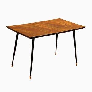 Tavolino con superficie in resina sintetica, anni '50