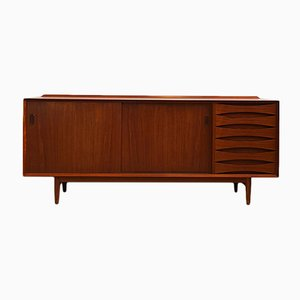 Mid-Century Danish Teak OS29 Sideboard by Arne Vodder for Sibast, 1960s