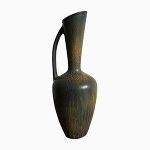 Skandinavische Vase aus Steingut von Gunnar Nylund für Rörstrand, 1950er