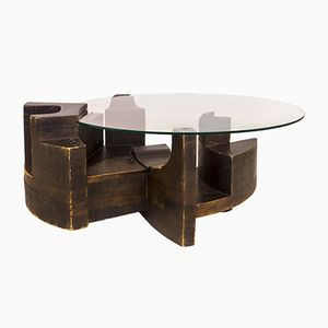 Gruppo NP2 Coffee Table by Nerone and Patuzzi for Esperia, 1970s