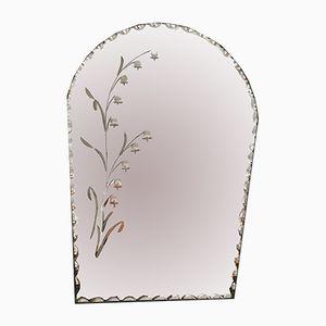 Specchio smussato, Francia, anni '50
