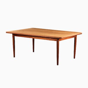 Vintage Teak Dining Table by Grete Jalk for Poul Jeppesens Møbelfabrik