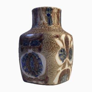 Jarrón modelo 720/3387 Mid-Century de cerámica de Nils Thorsson para Royal Copenhagen, años 70