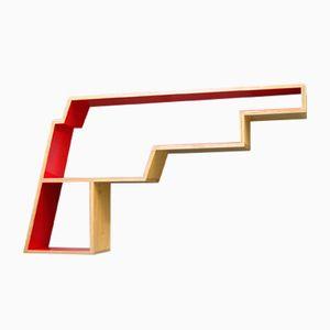 GUNSHELF Wall Shelf by Alain Marzat