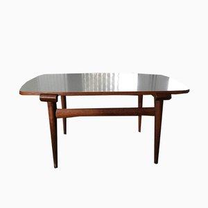 Mesa de centro escandinava vintage de teca
