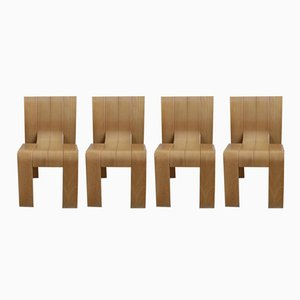 Dining Chairs by Gijs Bakker for Castelijn, 1970s, Set of 4