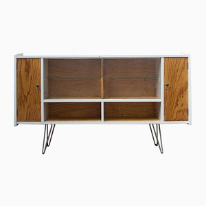 Pine Sideboard with Showcase, 1960s