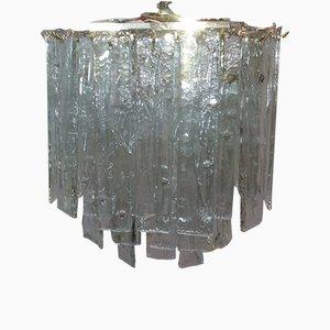 Lampe à Suspension en Cristal de Verre, 1960s