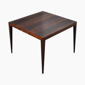 Table Basse en Palissandre par Severin Hansen pour Haslev Møbelsnedkeri, 1960s