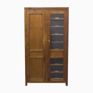 Walnut Wardrobe, 1940s