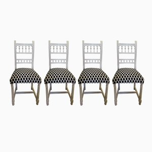 Antique Henri II Chairs, Set of 4