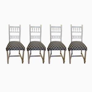 Antique Henri II Chairs, Set of 4