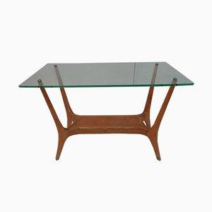 Table Basse en Hêtre, Italie, 1950s