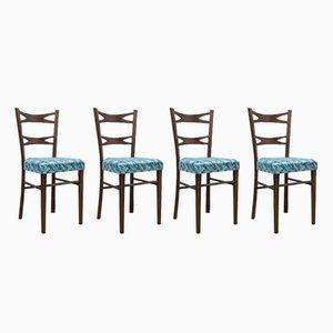 Sedie da pranzo di Muebles Mocholi, Spagna, anni '60, set di 4