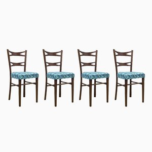 Spanish Dining Chairs from Muebles Mocholi, 1960s, Set of 4