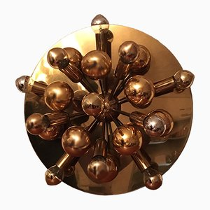 Vintage Sputnik Wall or Ceiling Lamp from Cosack