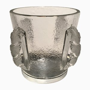 Vintage Crystal Glass Champagne Cooler from Lalique