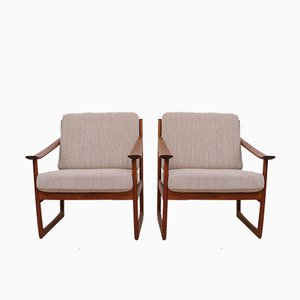 Vintage FD-130 Armchairs by Peter Hvidt & Orla Molgaard-Nielsen for France & Søn, Set of 2