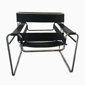 Vintage Wassily B3 Stuhl von Marcel Breuer für Gavina, 1960er