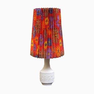 Lámpara de mesa de porcelana de Kaiser, años 60