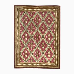Mid-Century French Aubusson Knotted Rug