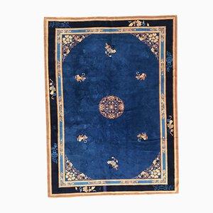 Großer französischer Vintage Teppich