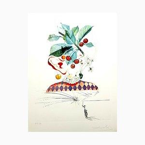 Lithographie Cherries par Salvador Dalí, 1969