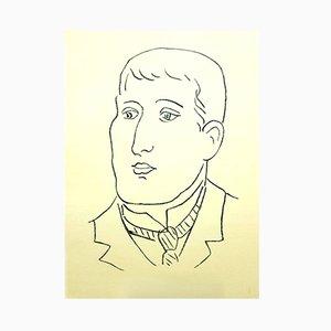 Litografía Apollinaire de Henri Matisse, 1952