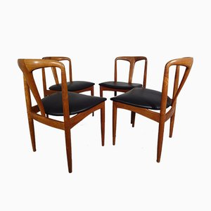 Juliane Teak Dining Chairs by Johannes Andersen for Uldum Møbelfabrik, 1960s, Set of 4
