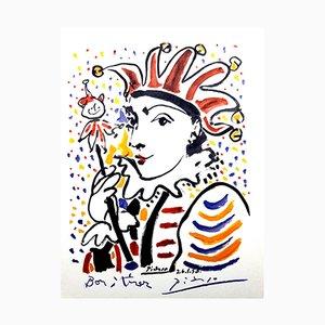 Vintage Carnaval Lithographie von Pablo Picasso