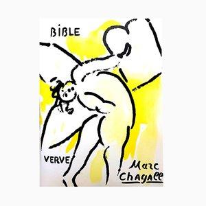 Lithographie The Bible par Marc Chagall, 1956