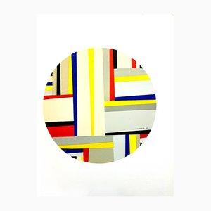Lithographie Tondo par Fritz Glarner, 1964