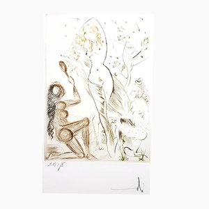 Gravures Decameron par Salvador Dalí, 1972, Set de 10