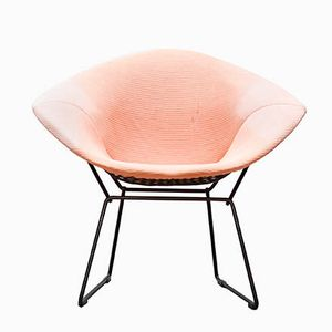 Model 421 Diamond Lounge Chair by Harry Bertoia for Knoll International, 1950s