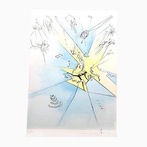 Gravure Signée The Grand Inquisitor par Salvador Dali, 1974