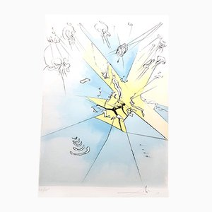 The Grand Inquisitor Signed Engraving by Salvador Dali, 1974