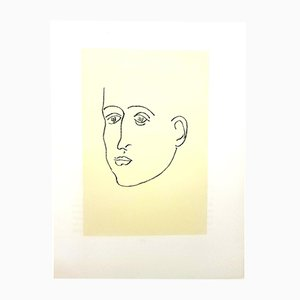 Lithographie Apollinaire par Henri Matisse, 1952