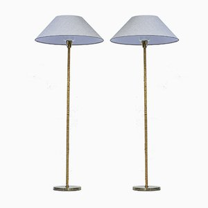 G-05 Floor Lamps from Bergboms, 1950s, Set of 2