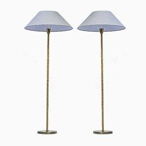 G-05 Stehlampen von Bergboms, 1950er, 2er Set