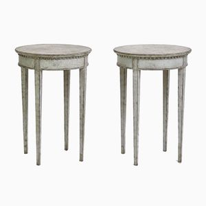 19th-Century Side Tables, Set of 2