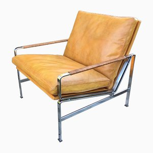 6720 Lounge Chair by Kastholm & Fabricius for Kill International, 1960s